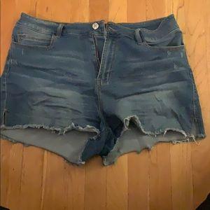 Denim Shorts Forever 21
